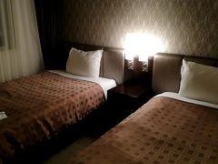 本日の宿泊は「ホテルユクエスタ旭橋」です。