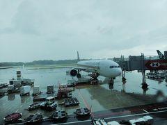 シンガポールはスコールの真っ最中。  この時間帯SQ630使いやすかったんですが、 5月まで減便になるようでさみしいです。