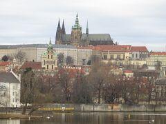 Legion橋から見るプラハ城。