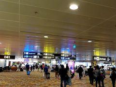 シンガポール空港に到着しました。 比較的人も少なく空いている感じがしたため、やはりコロナウィルスの影響かと思ったら、普段からこんな感じだそうです。  現在シンガポールは5つ目のターミナルを作っているそうです。 それだけ利用者がいるならいいけれど、シンガポール空港は世界一の空港になったとのことで、言い方は悪いけれど、見栄を張っているのではないかと現地の方が言っていました。  他にもお金を使わなければならないことはたくさんあるのにと。