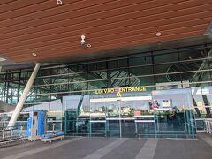 ホテルのロビーでひとやすみしたらgrabタクシーで空港へ。