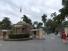 台灣大學。この後、コロナの関係で大學は部外者立入禁止に。昨今ようやく記名式で開放されたそうです。