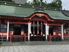 またタウンスニーカーで街中に戻り、深志神社へ。 諏訪明神こと、建御名方富命と菅原道真公も祀られており。文武両道ですね。