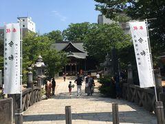 朝の市バスで松本に戻り、四柱神社へ。天之御中主神・高皇産霊神・神皇産霊神・天照大神の錚々たる四柱の神々を祀られる神社です。願いごとむすびの神様として有名だそうです。