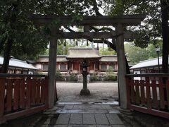 14:07 薬師寺休丘八幡宮 やすみがおかはちまんぐう 890年頃に大分の宇佐八幡を勧請して創建された薬師寺の鎮守社です。  明治の神仏分離後も、薬師寺が神社を管理しています。