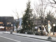 旧軽井沢バス停付近