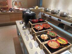 3日目の朝 COZZI台北民生ホテルの朝食
