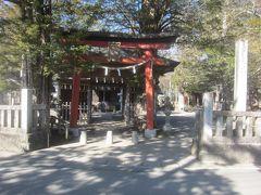 続いて浅間神社に来ました ご祭神は木花之咲耶姫命 大同2年(807)の創建です