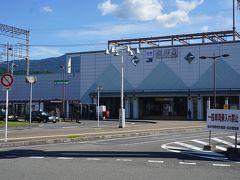 ●近鉄桜井駅  JR桜井駅と近鉄桜井駅はお隣同士。 この辺りは、JRよりも近鉄の方が、圧倒的に強いエリアです。