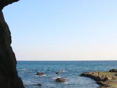 友人の希望で岩谷も入りました。  岩谷からの稚児ケ淵もいい感じです。  江ノ島の最奥部にある岩屋洞窟。  洞窟の奥で待っている「龍」に出会えるのもお楽しみ。
