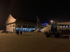 ついにルアンパバンの空港に到着です! 小さな空港でここでもほとんど待つ事なく入国できました。  今回も空港からホテルの送迎をつけたので20分もしないうちにホテルに到着です。 空港からルアンパバンの市街地まで本当に近いので楽です。
