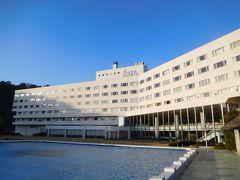 今宵の宿泊はこちら! 下田温泉ホテル伊豆急。 外観の写真は翌朝に撮影。