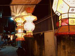 お腹も一杯になったので、神農街へ。 ライトアップが素敵ですー。 歩いてて楽しい。