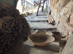 Ogama カフェもある窯元で多くの人で賑わっています。