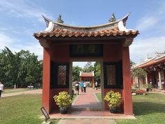 まずは観光地を巡ろうと孔子廟へ。 首里城っぽいと言われて納得!