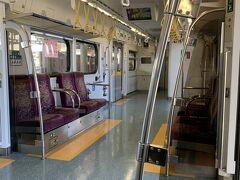 區間車はほとんどお客さんが乗っていませんでした。 40分ちょっとで、潮州站に到着しました。