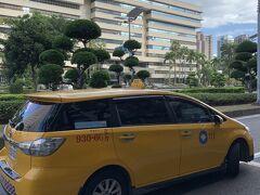 9時半ぐらいに高雄駅前からタクシーに乗って、呉寶春麥方店に向かいました。