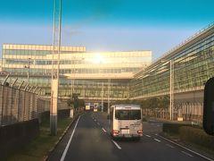羽田空港国際線ターミナルに到着。