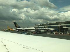 ゲート到着は5分遅れ。ANAはターミナル3です。