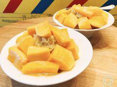 「綠豆蒜啥咪」愛文芒果冰はエッジの効いた大きめなマンゴーがゴロゴロで美味しい