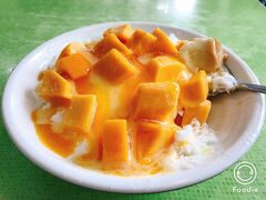 マンゴーの収穫期しか営業しない「冰讃」芒果雪花冰(マンゴーふわふわかき氷) マンゴーの季節には必ず食べに行きます