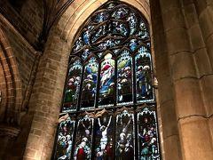 【St Giles' Cathedral】 娘に素敵なステンドグラスを見せたくてまた行ってみました。