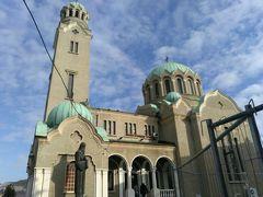 聖サンマリ生誕教会。地元の方々が多く来られていました。