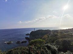 展望台から太平洋が一望です。青が綺麗です。