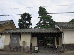 10:15 豪商の館田中本家博物館 帰りは須坂で降ろしてもらいました。