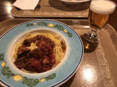 閉店ギリギリのポルト・フィーノでパスタを食べて、楽しい1日が終わりました。