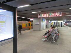 2時間40分程で高雄駅に到着しました。