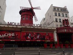 朝の「Moulin Rouge」にやってきました。 いつか夜のキャバレーも観に来たいです。 何となく朝の歌舞伎町を彷彿とさせます。
