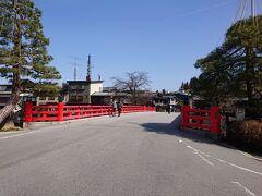 陣屋の前、宮川中橋。 ここもこんな感じ。 こんな景色、今まで記憶にありません。
