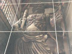 東大寺と言えば大仏と並んで有名な南大門の金剛力士像。こちらは阿形像。