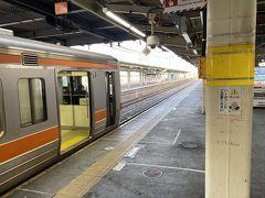大垣駅から尾張一宮駅まで快速。そこから名鉄で