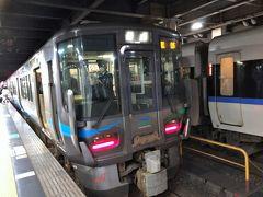 金沢駅でIRいしかわ鉄道に乗り換えます。  3泊4日の台湾旅行、無事終了です。  新型コロナウィルスの影響で鉄道・航空機ともに空いていました。  早く治まればいいのですが。