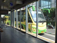 そしてBRTに乗ります。toraji、BRT初体験。バスなんですけどなんだか不思議な感じ。