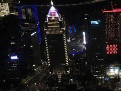 台北には1泊しました。3回目の台北にして初めての台北101 夜景が綺麗