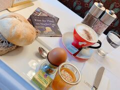 カフェラントマンで朝食を食べることに。表参道の店舗に去年行ったので、ウィーンでも1度行ってみたいと思っていました。優雅な朝だな~とは思うのですが、お洒落なカフェで1人で慣れないパンを食べるのはなかなか神経を消費しました😂