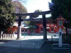 藤崎宮があったのでちょっと休憩。