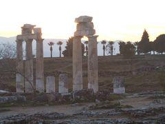 次に向かったのは、パムッカレにある古代都市ヒエラポリスの遺跡