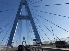 12:00 名港東大橋<名港トリトン 伊勢湾岸自動車道 ちなみに、名港とは名古屋港のことのようです。