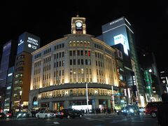 銀座と言えばこの和光の建物ですよね