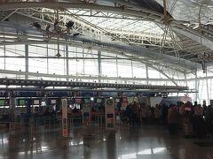 こぢんまりとした空港でした。