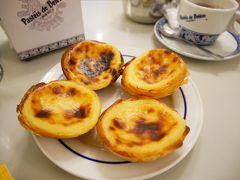 ポルトガル旅行中、様々な店でナタを食べましたが、個人的にここが一番好きです。 外はパリパリ、中はトロトロ。最高でした。  会計はテーブルで。   朝食のあと、再びトラムに乗ってベレンの塔を目指しました。