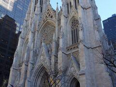 ニューヨークのど真ん中にある大聖堂