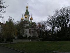奇蹟者聖ニコライ聖堂。写真だけ見るとロシアみたい。