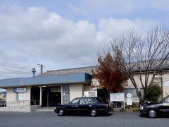 五条駅到着☆  ここは奈良県ですが、二駅先はもう和歌山!  奈良と言っても広いからね~ 住んでいてもなかなかここまで来ることはない(^◇^;)  ここからは奈良交通バスで新宮行きに乗車します