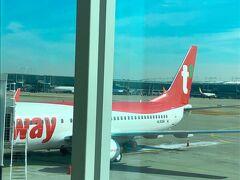 今回の南米旅は、日本から直行で行くよりも韓国経由にすることで驚くほどにお安く予算が抑えられました。関空→韓国(仁川空港)はTway航空を利用。他にも韓国行きの安いLCCはあったのですが、大荷物を背負って行くため、受託手荷物込みで格安のTway航空を選択。(TW282便 10:55→12:55)