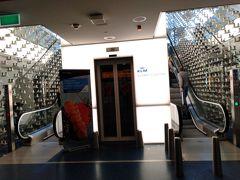 KLMラウンジにやってきました。 最近新しくなったとかで洒落ています。